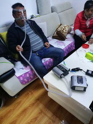 瑞思迈呼吸机让家人睡眠质量比之前高了