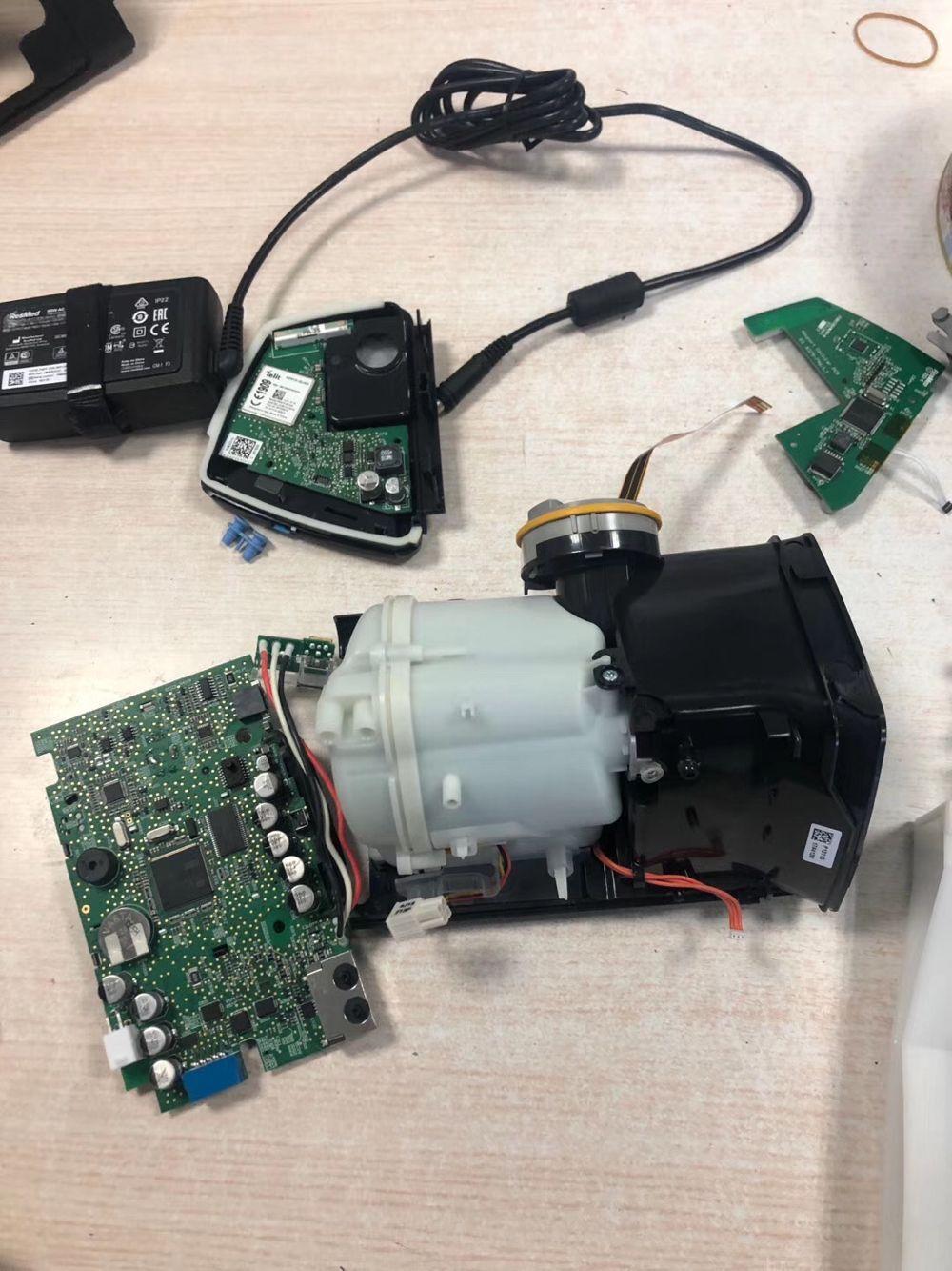 瑞思迈S10呼吸机维修与保养主板故障维修与更换